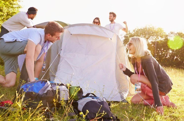 Choose the right tent capacity