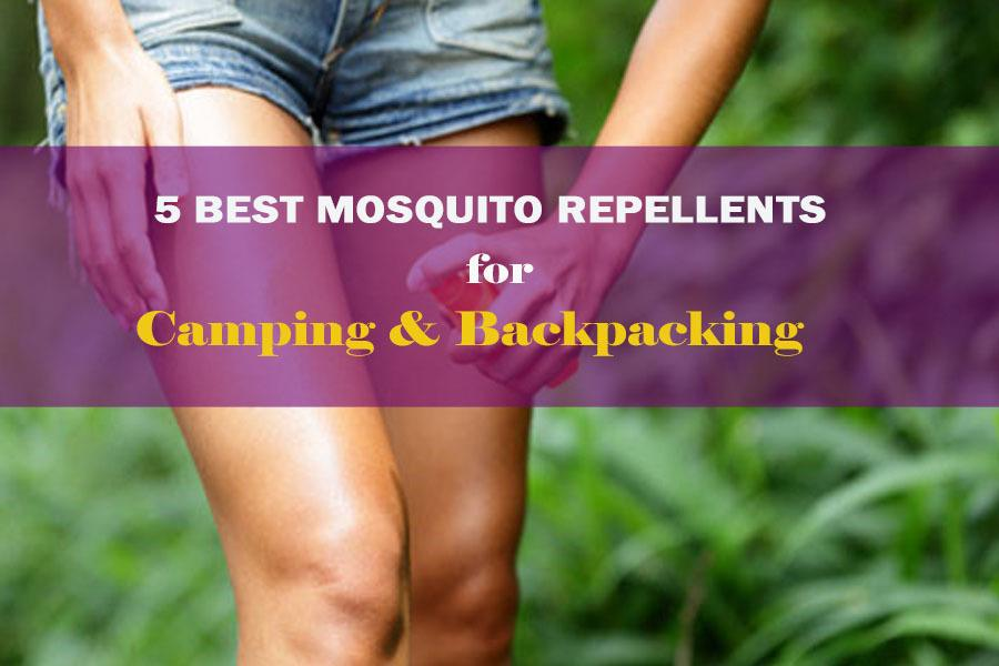 The 5 BEST MOSQUITO REPELLENT Reviews for Camping and Backpacking