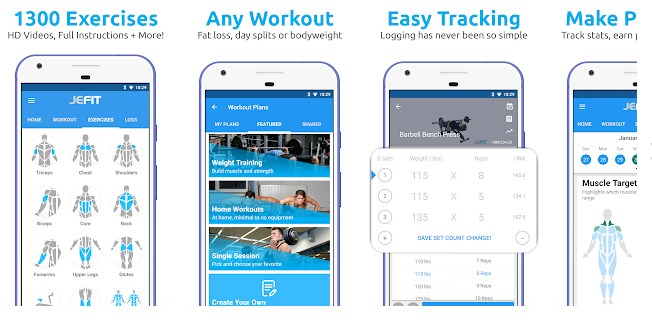 7 Best Bodybuilding App at home for android and Iphone